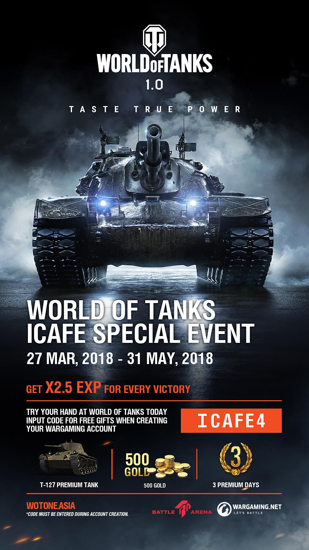 World of Tanks – Battle Arena